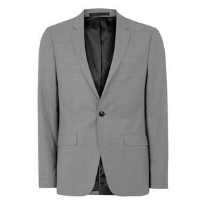Topman Topshop Skinny Fit Suit Jacket Gray 40R
